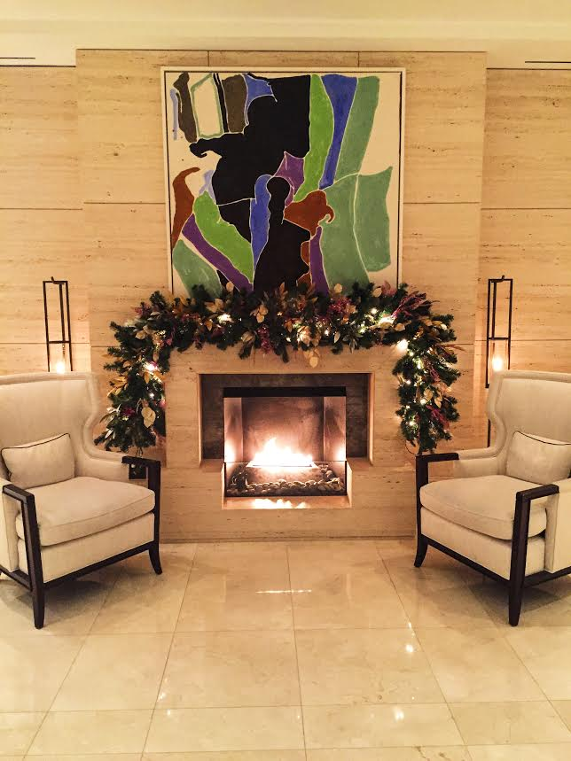 langham chicago fireplace