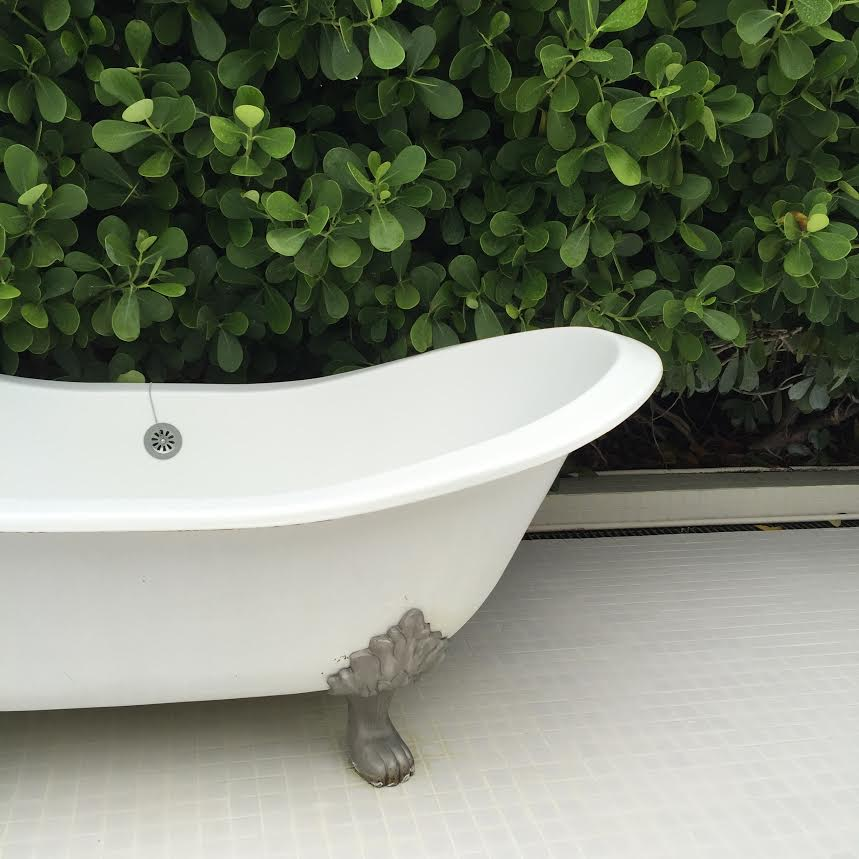 Standard Spa Miami Outdoor Tub