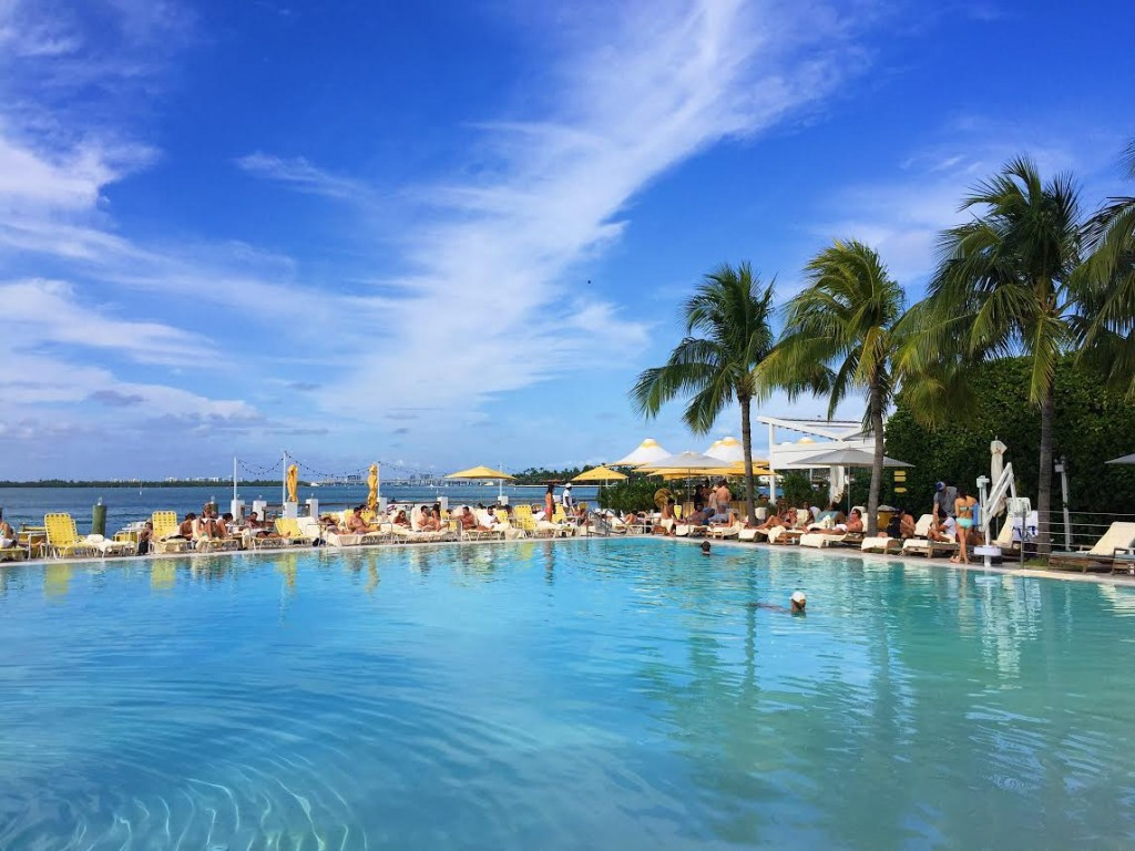The Standard Spa Miami Pool